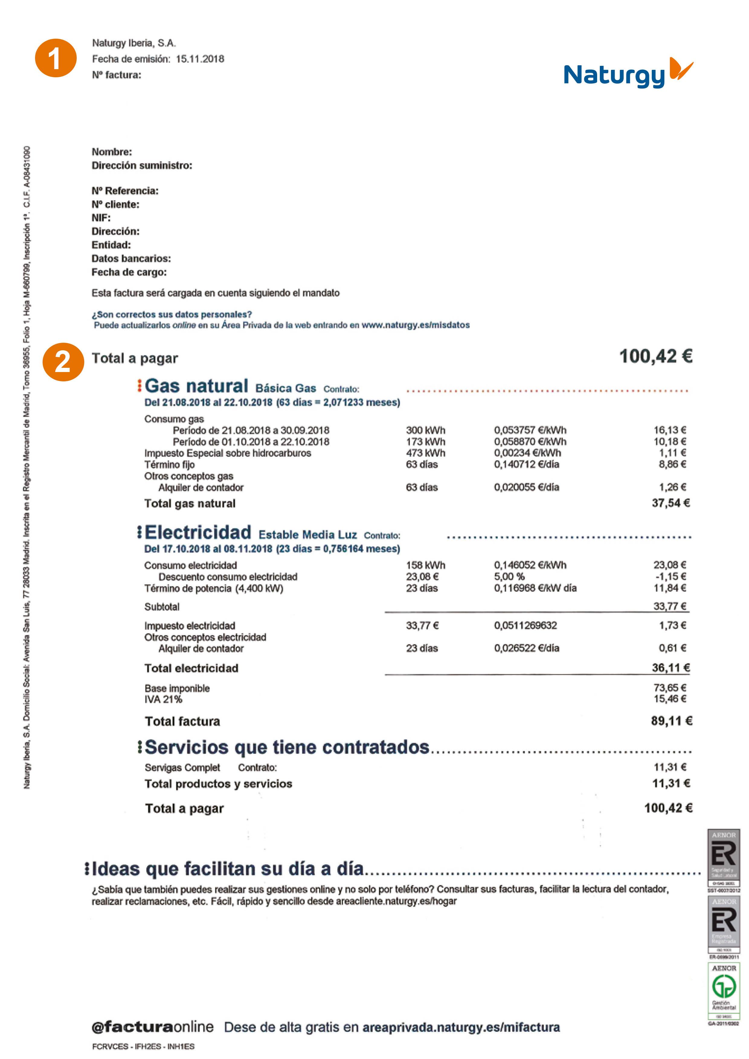 ff750e245 Entiende tu factura - Naturgy - Hogar
